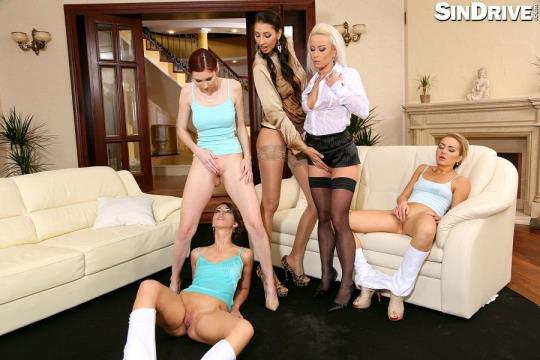 SinDrive: Kitty Jane, Victoria Puppy, Susan Ayn - Proper Pissy Pussy Audition (HD/720p/437 MB) 11.08.2017