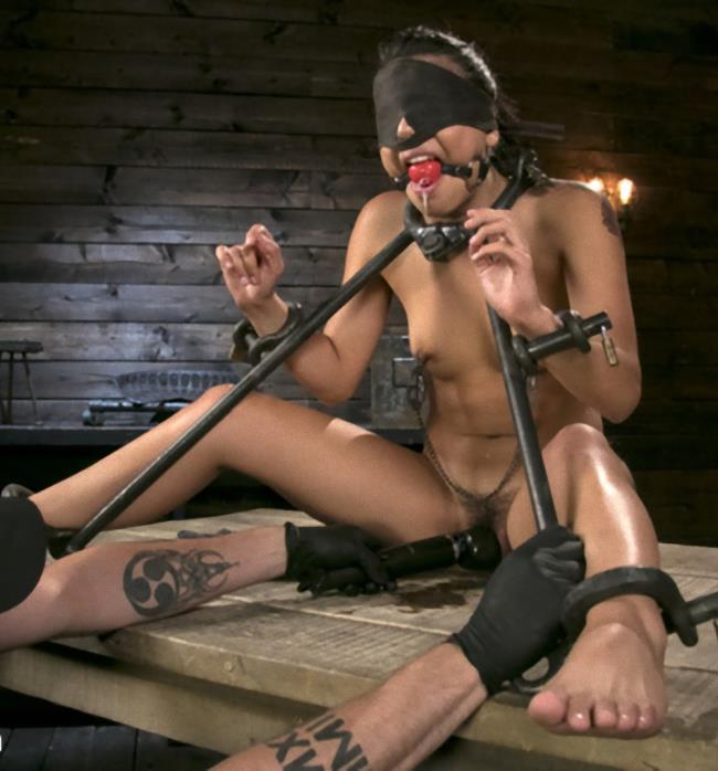 Kink/DeviceBondage - Gina Valentina , The Pope - Petite Submissive Slut Gina Valentina Gets Punished in Brutal Bondage! - HD/720p