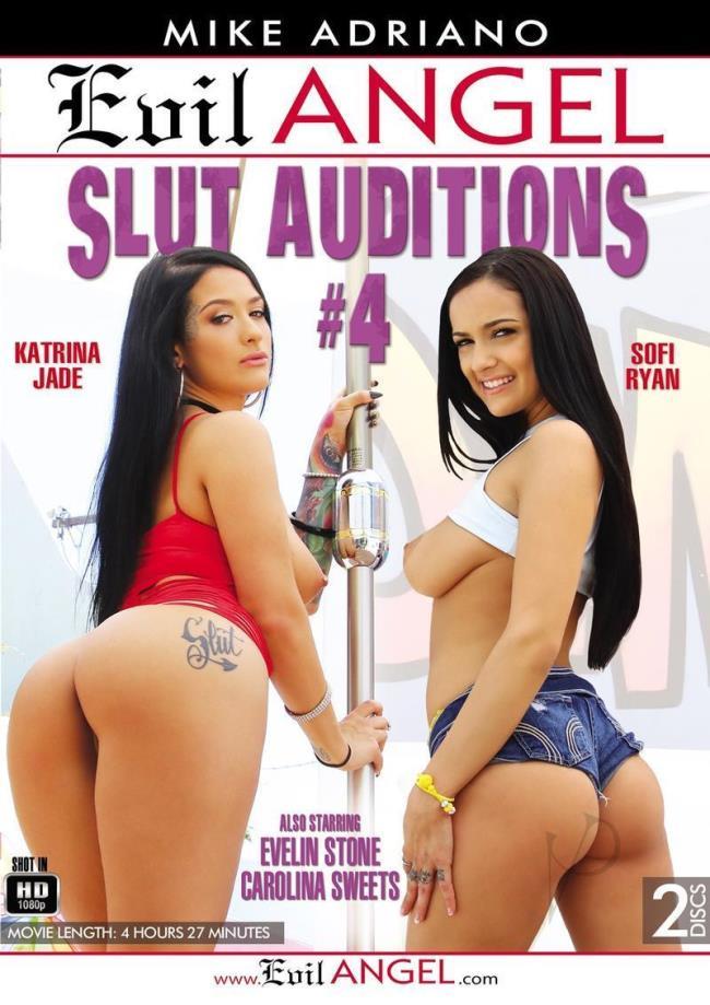 Slut Auditions 4 [2017|SD|406p|1.63 GiB+1.50 GiB]