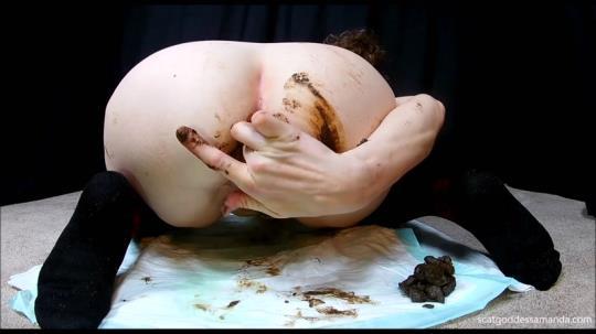 Scat Porn: Tall Socks Sensual Poo Cum (FullHD/1080p/878 MB) 11.08.2017
