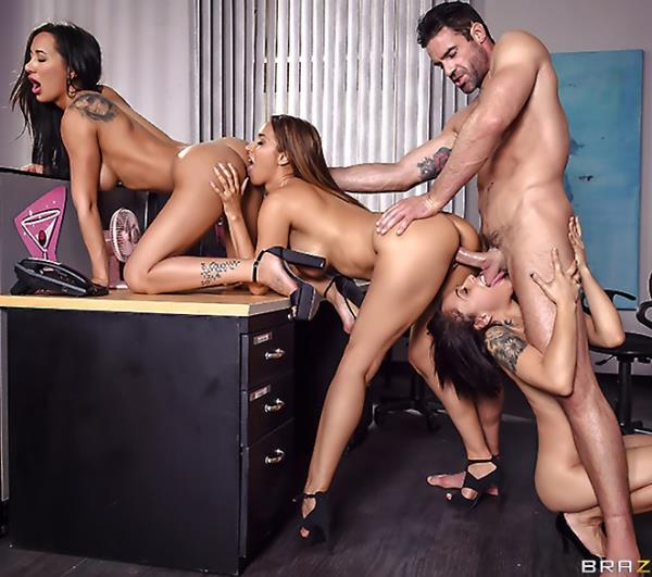 Amia Miley, Holly Hendrix, Isis Love - 1 800 Phone Sex: Line 4 (3some) - BrazzersExxtra/BraZZers   [SD 480p]