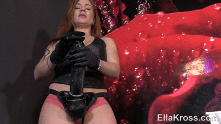 EllaKross: Teaching My Slave to Suck and Fuck Dirty Cock! - Ella Kross [2017] (FullHD 1080p)