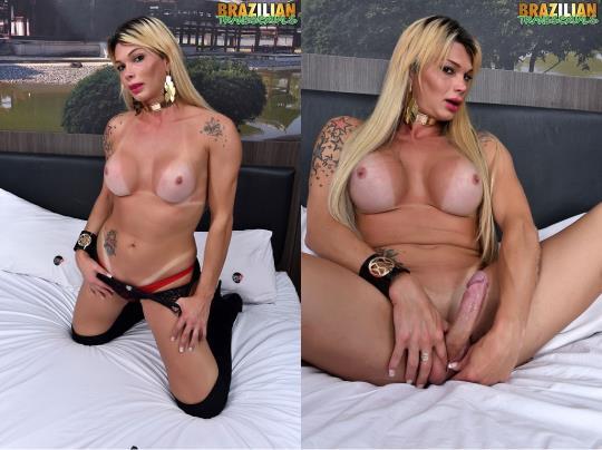 Brazilian-Transsexuals: Sexy Bruna Gaucha (HD/720p/451 MB) 06.08.2017