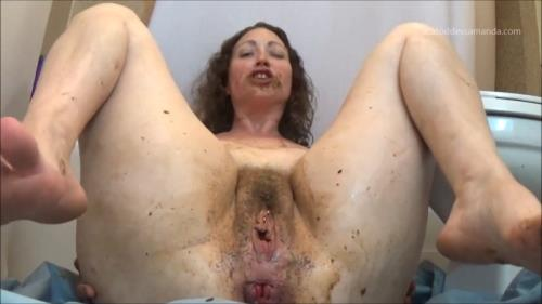Eating Samantha Shit Cumming [FullHD] - Scat