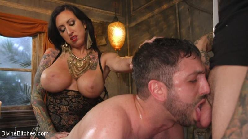 (Humiliation / MP4) Jay Wimp, Ruckus, Lily Lane - The Princess and Her Pathetic Pet DivineBitches.com / Kink.com - SD 540p