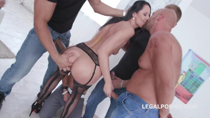 LegalPorno.com - Total DAP Destruction with July Sun, almost only DAP and gapes, she is a monster! GIO425 [SD, 480p]