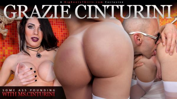 Trans500 - Grazi Cinturinha / Some Ass Pounding with Ms.Cinturini [HD, 720p]