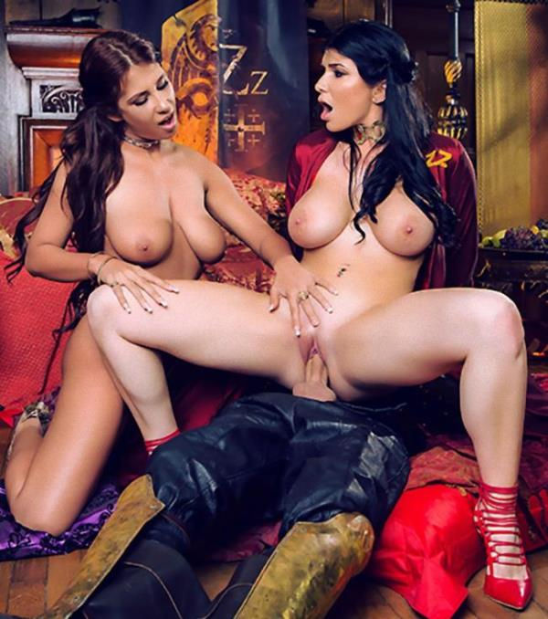 Ayda Swinger, Romi Rain - Queen Of Thrones: Part 3 (A XXX Parody) (Brazzers/ZZSeries)  [HD 720p]
