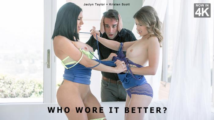 StepMomLessons.com / Babes.com - Jaclyn Taylor, Kristen Scott - Who Wore It Better? [SD, 480p]