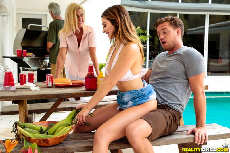 SneakySex.com / RealityKings.com: Quinn Wilde - Cumming To The Cookout [SD] (268 MB)