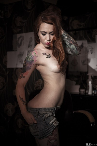 TheLifeErotic: Foxy Sanie - Tattoo 2  [SD 360p] (115.4 Mb)