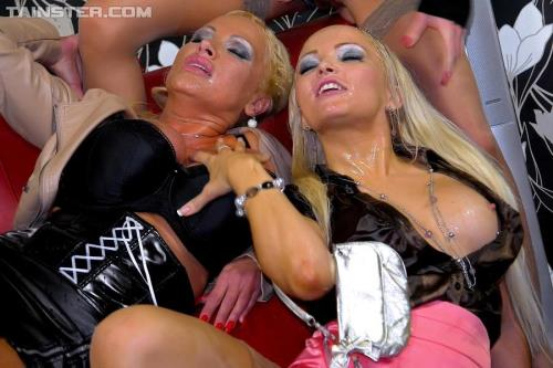 Jenna Lovely, Sharon Pink, Vanessa - VIP Piss Lesbos Watch And Learn [HD, 720p]