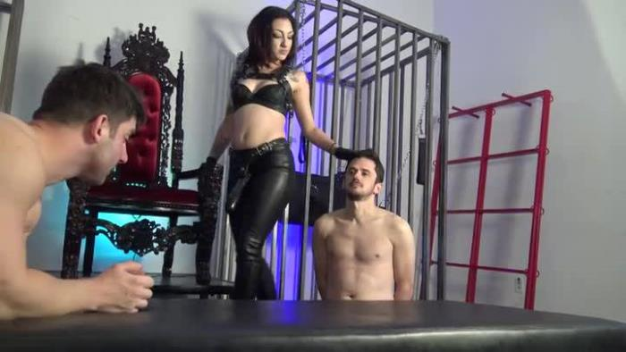 DomNation: Mistresses Cybill Troy, Eva Cruz - The Ass Raype Train  [SD 406p] (84.76 Mb)