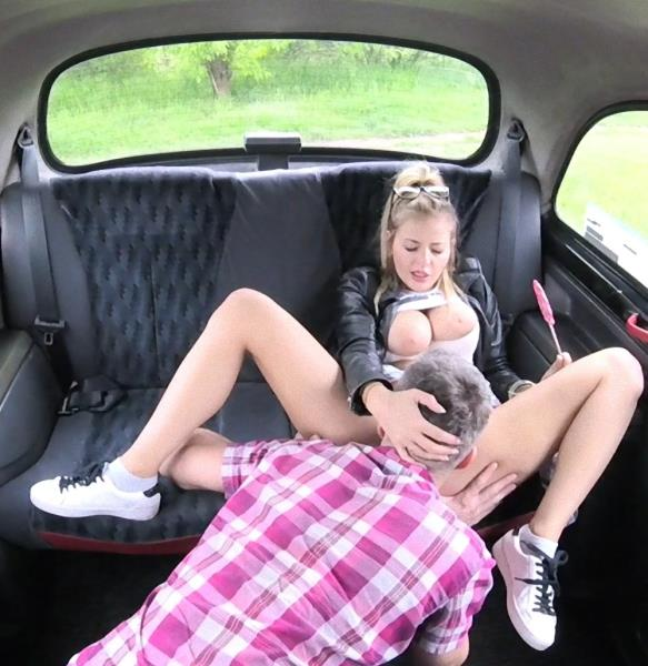FakeTaxi/FakeHub - Candy Alexa - Teen Rubs Lollypop On Her Pussy [SD 480p]
