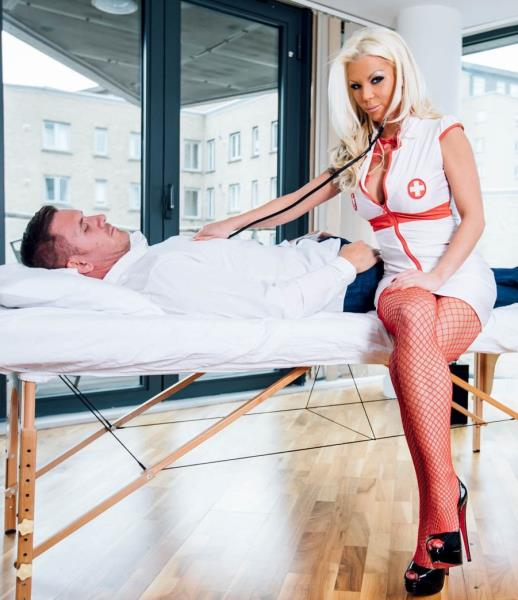 Barbie Sins - Barbie Sins, a nurse who loves lingerie and facials [Private] SD 360p