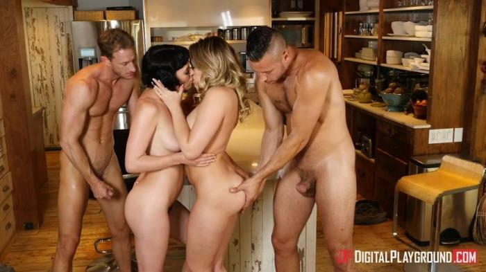 DigitalPlayground.com - Mia Malkova & Olive Glass - Couples Vacation, Scene 5 [SD, 480p]