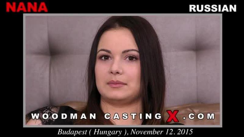 WoodmanCastingX: Nana casting - Nana Federova [2016] (SD 480p)