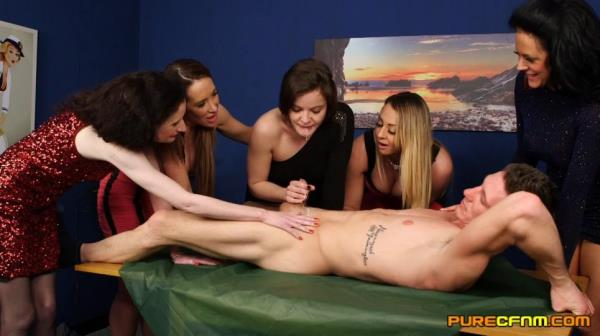 PureCFNM - Dolly Diore, Jess Scotland, Lexi Ryder, Ruby Ryder, Scarlet Red - Come Dine On Me [FullHD, 1080p]