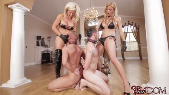 ClubDom: Sex Slave For Blondes Part 5 Strap-on (FullHD/1080p/618 MB) 21.08.2017