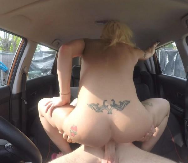 FakeDrivingSchool - Barbie Sins - Hot sweaty sex with big tits blonde [SD 400p]