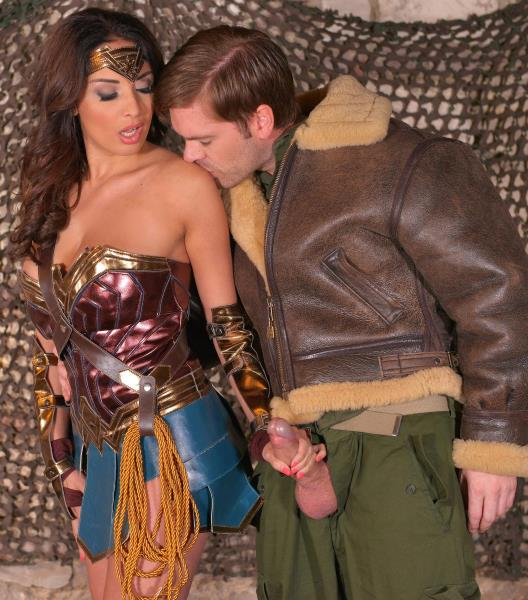 HandsonHardcore/DDFNetwork - Anissa Kate - Horny Wonderwoman: Salacious Babe in Costume Fucked Up Her Ass [SD 540p]
