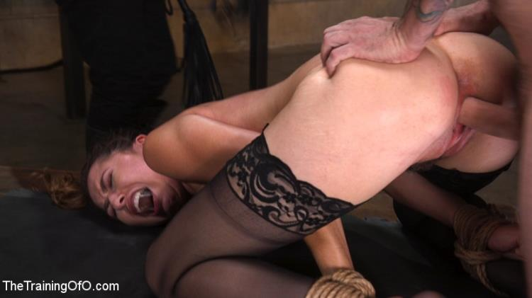 Melissa Moore (Training a Pain Slut: Busty Melissa Moore's First Submission / 15.08.17) [Kink, TheTrainingOfO / HD]