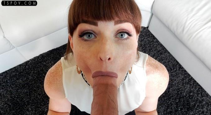 Natalie Mars / naughty schoolgirl blows her stepdad [tspov / FullHD]