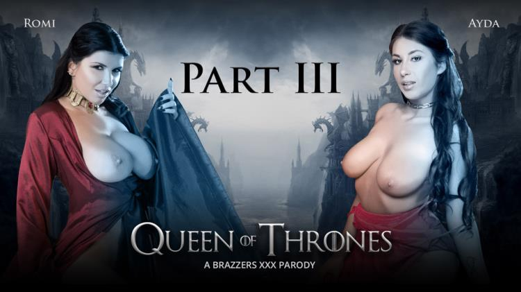 Ayda Swinger aka Aida Swinger & Romi Rain - Queen Of Thrones: Part 3 (A XXX Parody) [Brazzers, ZZSeries / SD]