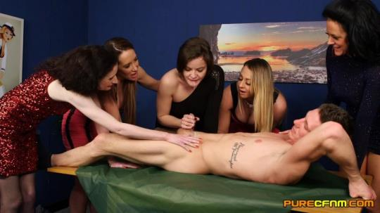 PureCFNM: Dolly Diore, Jess Scotland, Lexi Ryder, Ruby Ryder, Scarlet Red - Come Dine On Me (FullHD/1080p/950 MB) 21.08.2017