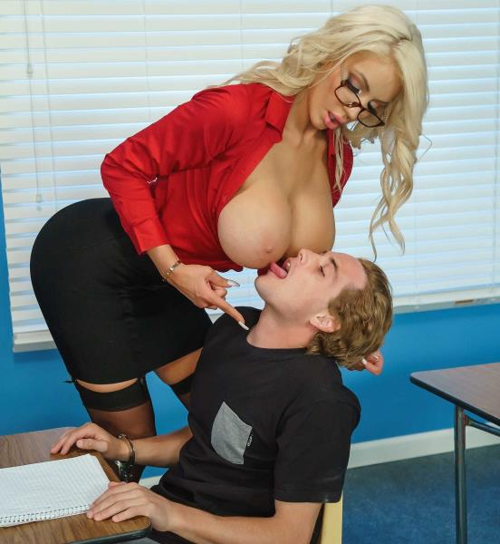Nicolette Shea - Ms. Sheas Summer School (Big tit) - BigTitsAtSchool/Brazzers   [SD 480p]