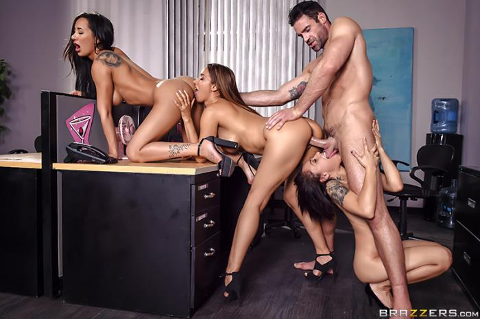 BrazzersExxtra/Brazzers -  Amia Miley, Holly Hendrix, Isis Love - 1 800 Phone Sex: Line 4  [HD 720p]