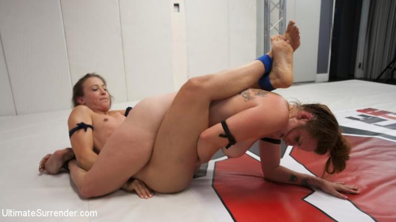 UltimateSurrender.com / Kink.com: Cheyenne Jewel, Bella Rossi - Busty RedHead take on Big ass Red Head in 100% real competitive match [SD] (461 MB)