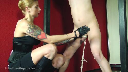 Domina Hera - Domina Hera's... ... cruel cock and ball torture [FullHD, 1080p] [BallBustingChicks.com / Clips4Sale.com]