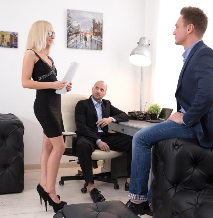 Bambi Dee- Bambis Office Double Dicking  [HD 720p] DPFanatics/21Sextury
