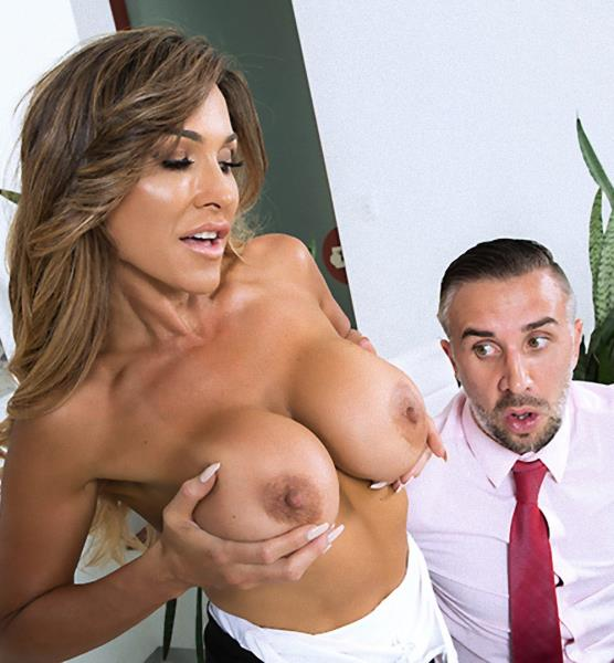 BigTitsAtWork / Brazzers - Aubrey Black [Taking Wifey To Work] (SD 480p)