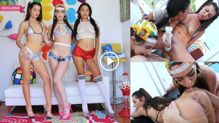 Joseline Kelly, Lily Adams, Maya Bijou - Superslut Sensation With Joseline, Lily & Maya / 09-09-2017 (Swallowed) [SD/360p/MP4/156 MB] by XnotX