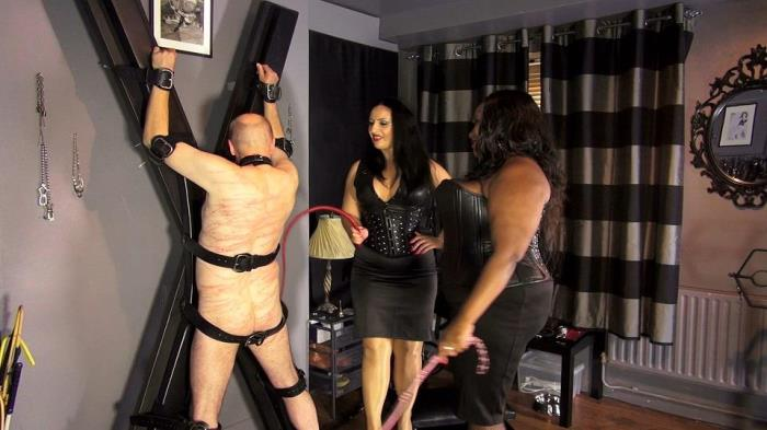 Mistress Caramel and mistress Ezada spanking (Clips4sale) FullHD 1080p