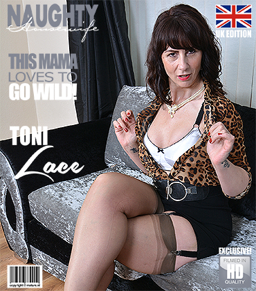 Mature.nl / Mature.eu - Toni Lace (EU) (51) - British housewife playing with herself [FullHD, 1080p]