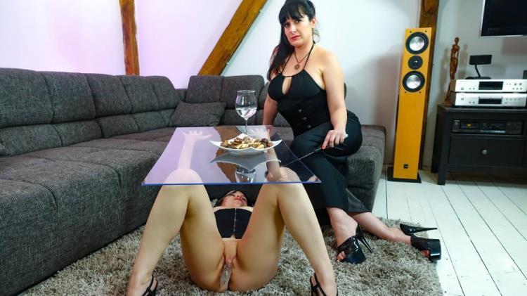 Lady Cosima, Vanessa Voxx - Hot German dominatrix Lady Cosima dominates submissive slave babe PT 1 [PornDoePremium, BadTimeStories / SD]