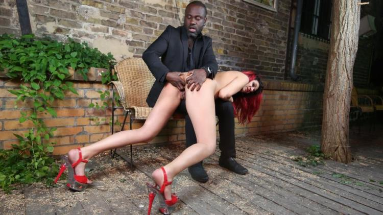 PD Laila - Hot interracial domination with beautiful German redhead slave Laila PT 2 [PornDoePremium, BadTimeStories / HD]