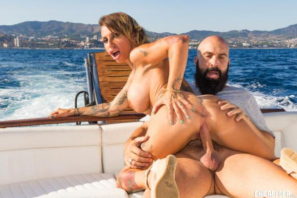 Gina Snake - Busty Spanish MILF Gina Snake gets fucked on a boat by Max Cortes [SD 240p]