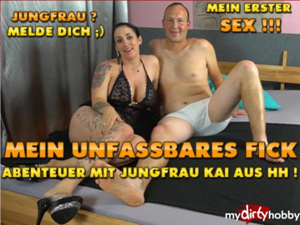 MyDirtyHobby/MDH:  QueenParis  - Mein unfassbares Fick-Abenteuer mit Jungfrau Kai aus HH  My incredible fucking adventure with Jungfrau Kai from HH! (2017) FullHD  1080p
