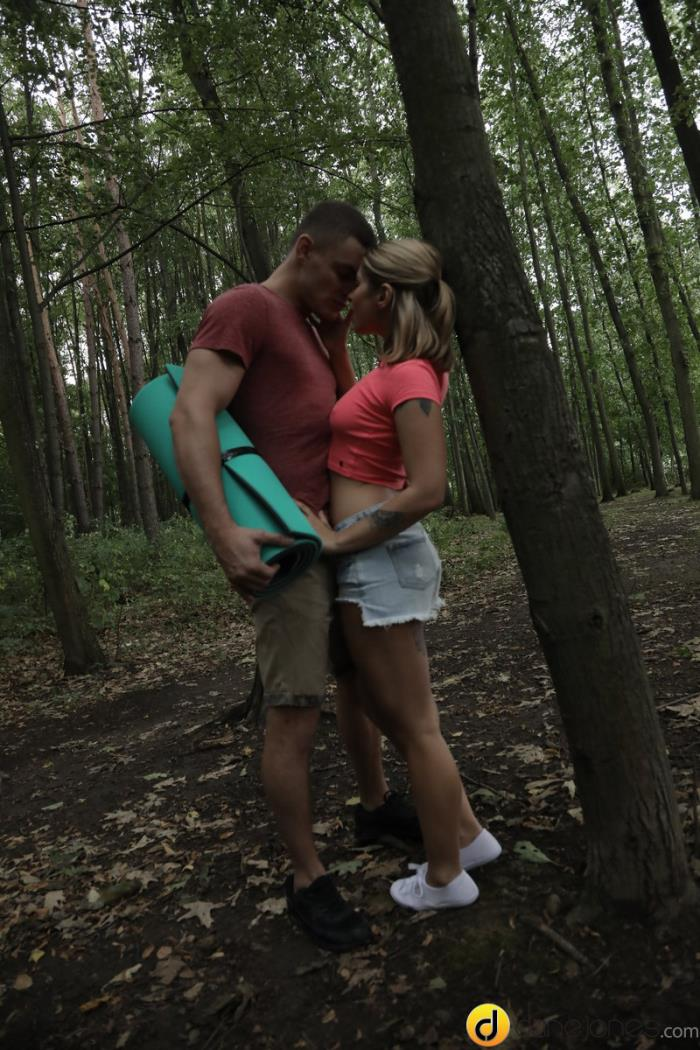 DaneJones.com / SexyHub.com - Amy Red aka Kattie Hill - Horny couple outdoor fuck in public [SD, 480p]