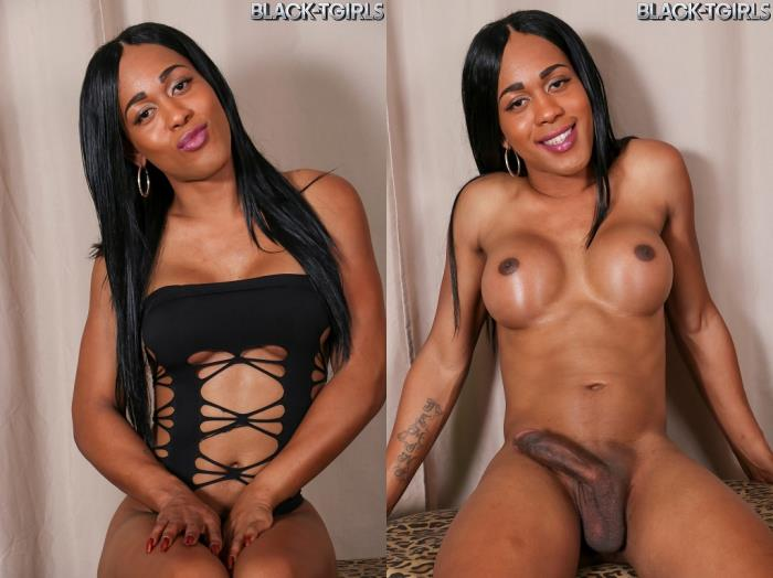 Star The Goddess / Star The Goddess Cums! (Black-TGirls) HD 720p