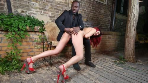 PD Laila - Hot interracial domination with beautiful German redhead slave Laila PT 2 [HD, 720p] [BadTimeStories.com / PornDoePremium.com]