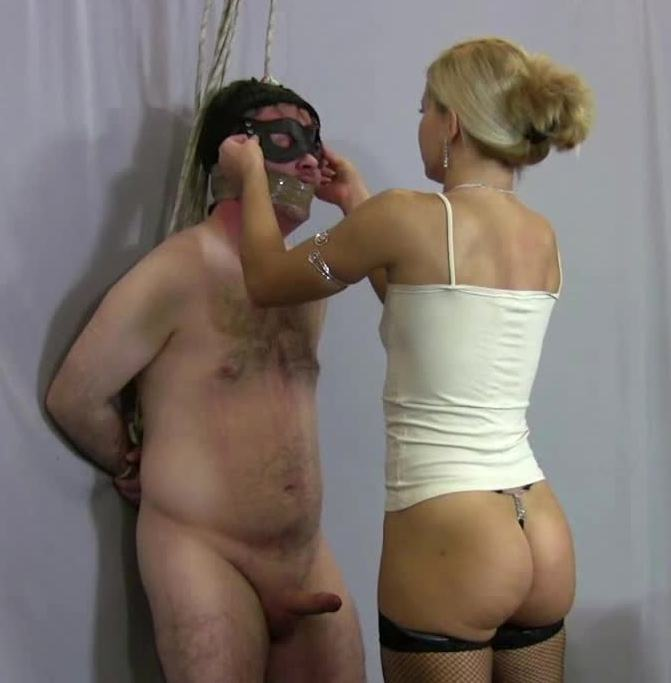 Clips4sale - Lady Zita [Extremely Cruel Face Slapping Clip With Milking Humiliation] (HD 720p)