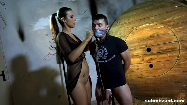 Katie Oliver - Bondage Session With A Twist - BoundMenWanked.com / Submissed.com (FullHD, 1080p)