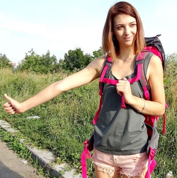 Tera Link - Hitchhiking Student Fucks Fat Cock (PublicAgent)  [FullHD 1080p]