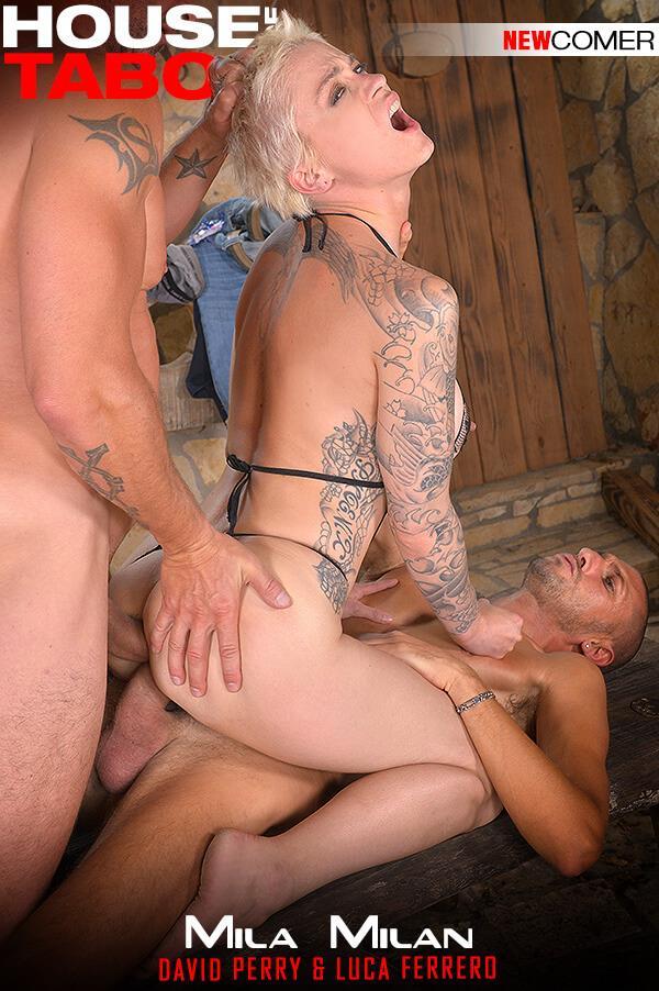 HouseOfTaboo.com / DDFNetwork.com: Mila Milan - Kinky Backdoor Drillers [SD] (319 MB)