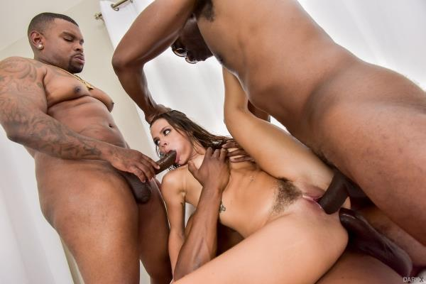 DarkX - Keisha Grey - 5 On Keisha! [SD, 400p]